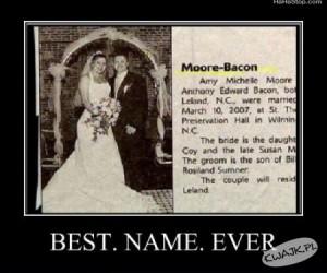 Najlepsze nazwisko