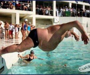 Postawa pływaka
