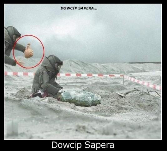 Dowcip sapera