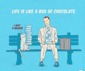 Życie jak pudełko czekoladek
