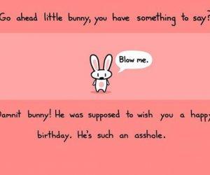 Życzenia od króliczka