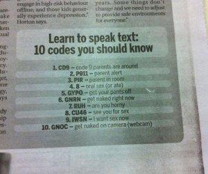 Rodzicu! Naucz się czytać smsy
