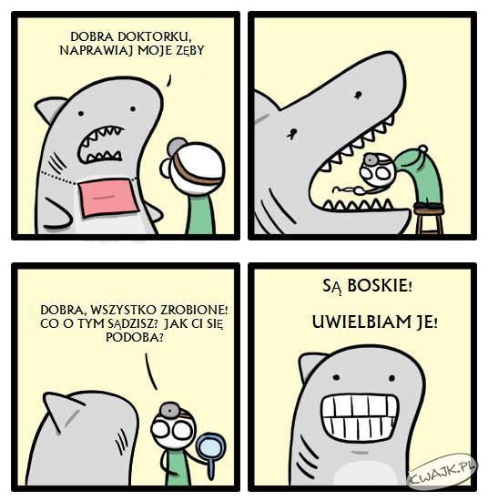 Boskie zęby