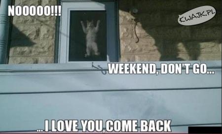 Weekendzie, wracaj!