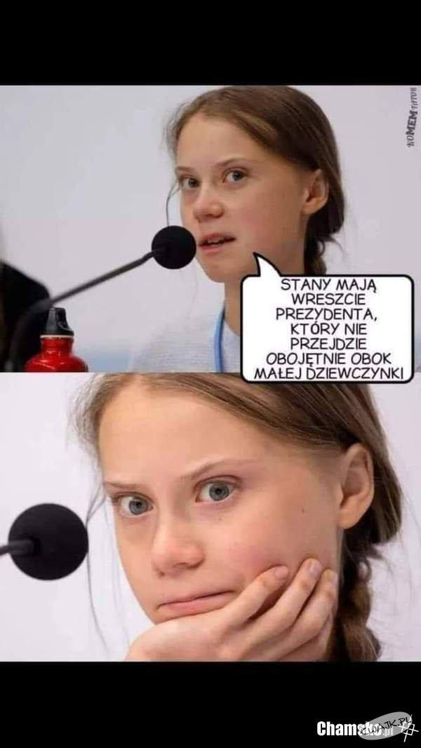 Greta w akcji