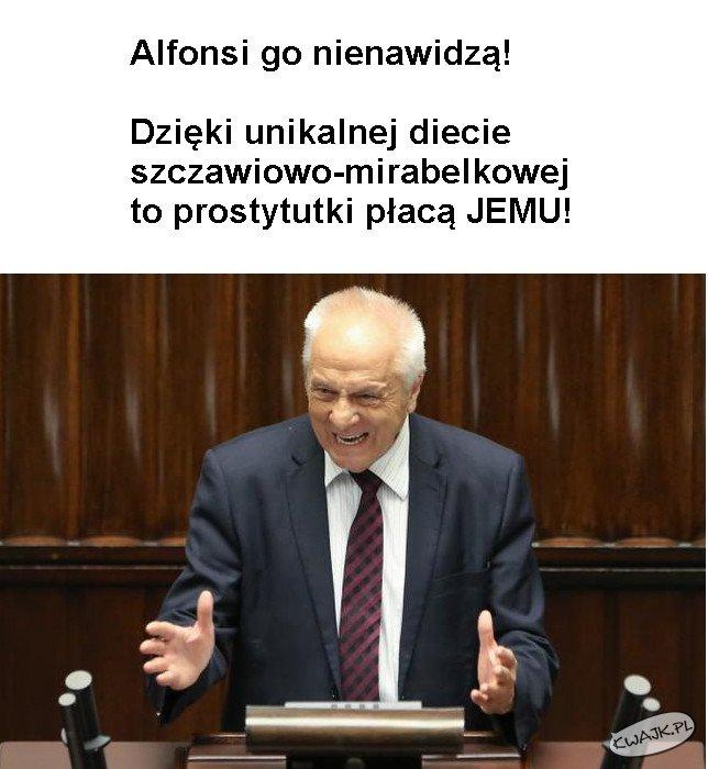 Alfonsi go nienawidzą...