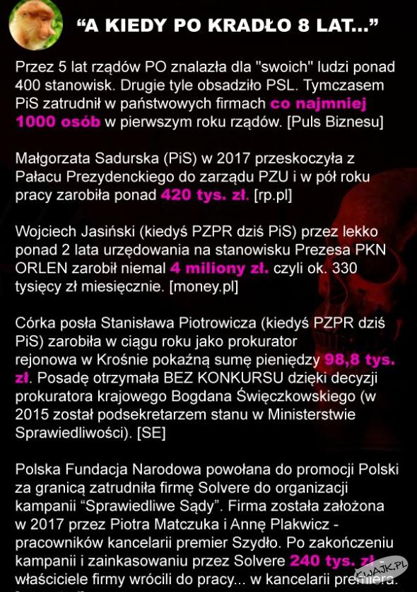 Właśnie tak wygląda polski rząd od wielu, wielu lat...