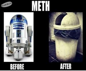 Narkotyki...niszczą ludzi i roboty