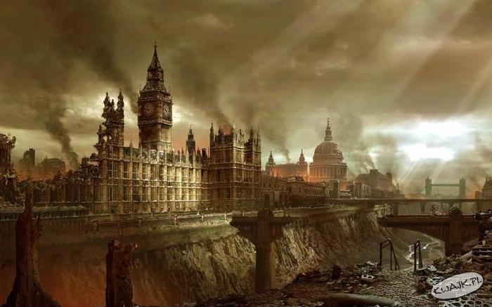 Londyn po wybuchu