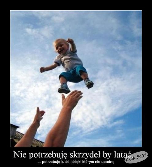 Dzieci bezgranicznie ufają rodzicom