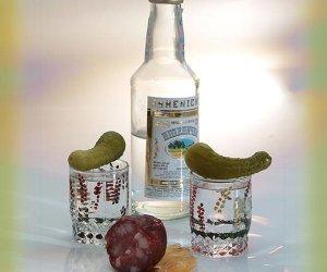 Podręczny zestaw małego alkoholika
