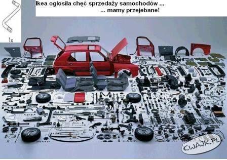 Ikea zaczyna produkować samochody