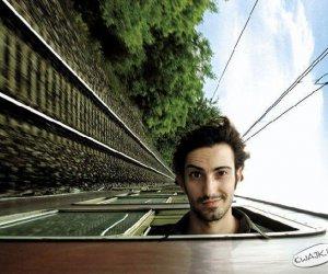 Zdjęcie w pociągu