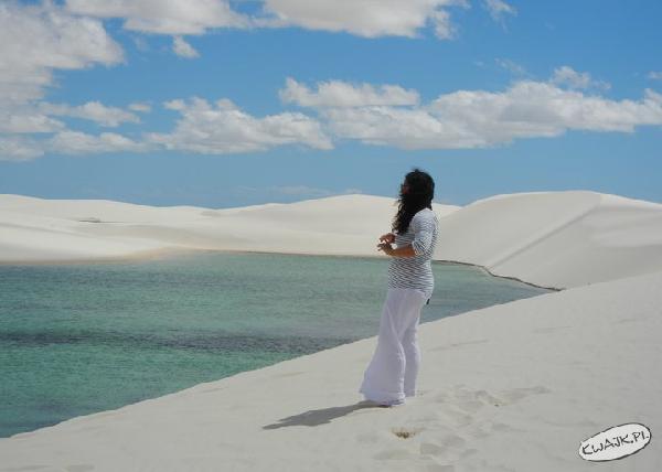 Biały piasek