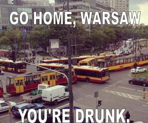 Pijana Warszawa
