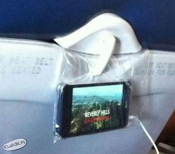 Geniusz w samolocie