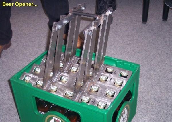 Jak na raz otworzyć 24 piwa