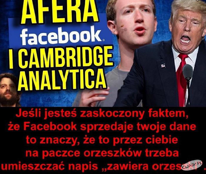 Czy wiesz, że Facebook sprzedaje Twoje dane?!