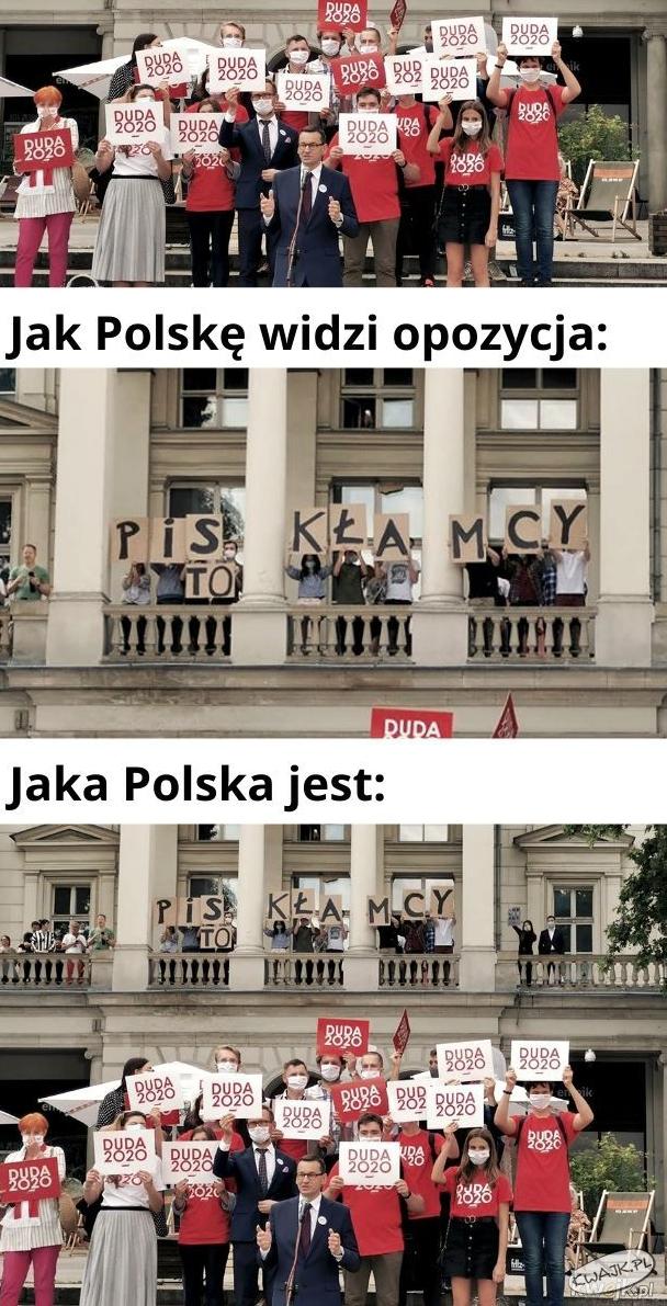 Jak Polskę widzi PiS, a jak opozycja?