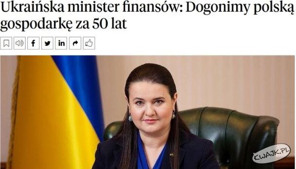 To mysu być strasna bieda na tej Ukrainie...
