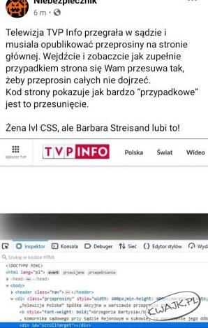 Wałek TVP Info?