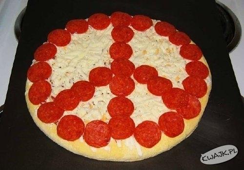Pizza na znak pokoju