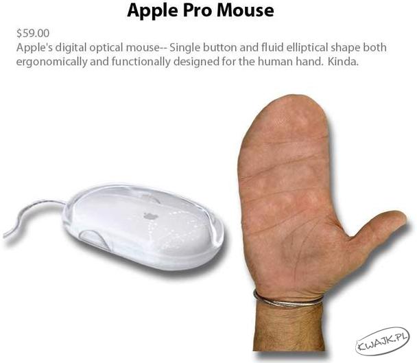 Zaprojektowana dla ludzkiej dłoni