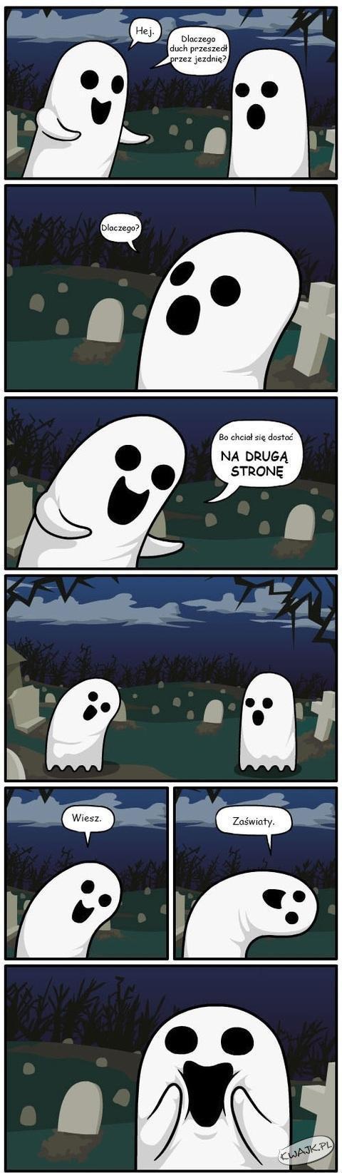 Żart o duchach