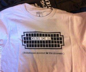 Gdy alkohol jest odpowiedzią