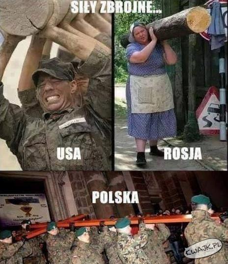 Porównanie sił zbrojnych