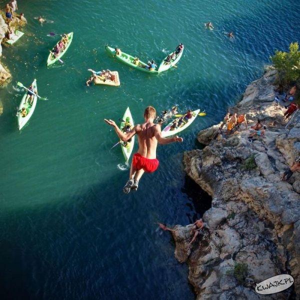 Ryzykowny skok