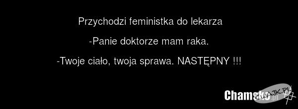 Feministka u lekarza...