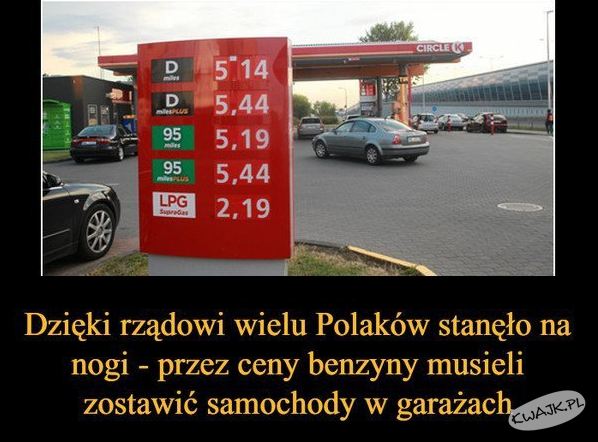 Dzięki rządowi PiS wielu Polaków stanęło na nogi...