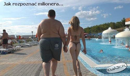 To na pewno milioner