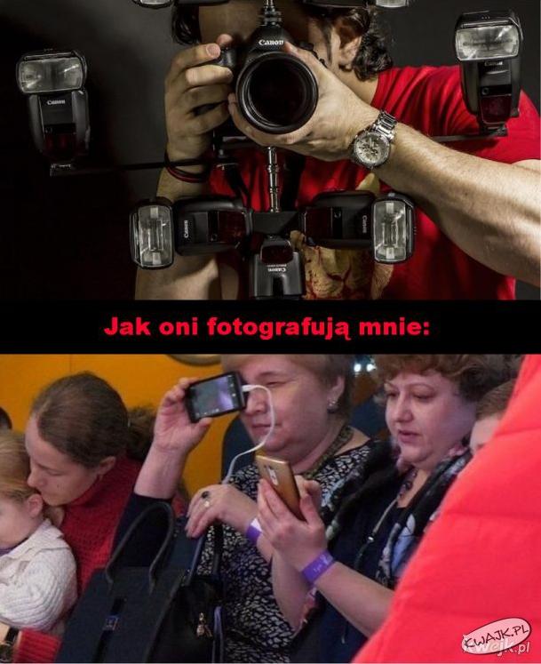 Jak fotograruję moich znajomych, a jak oni mnie...