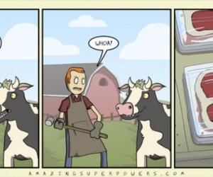 Gadająca krowa