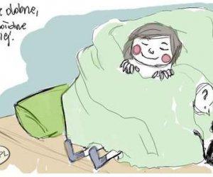 Nie ma to jak łóżko