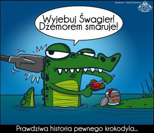 Prawdziwa historia pewnego krokodyla