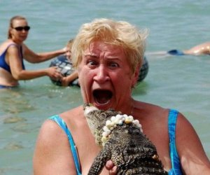 Krokodyla daj mi luby...