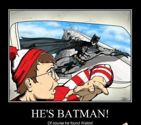 Batman wszystkich znajdzie