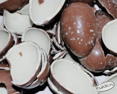 Czekoladowe jajka - mniam