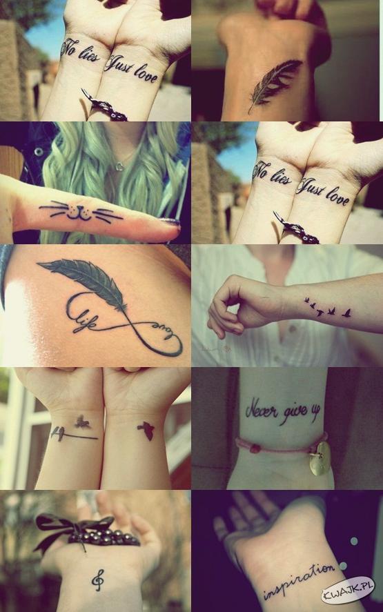 Drobne tatuaże