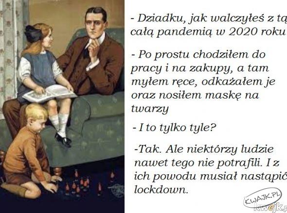Dziadek i pandemia