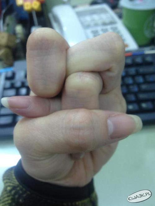 Pokręcone palce
