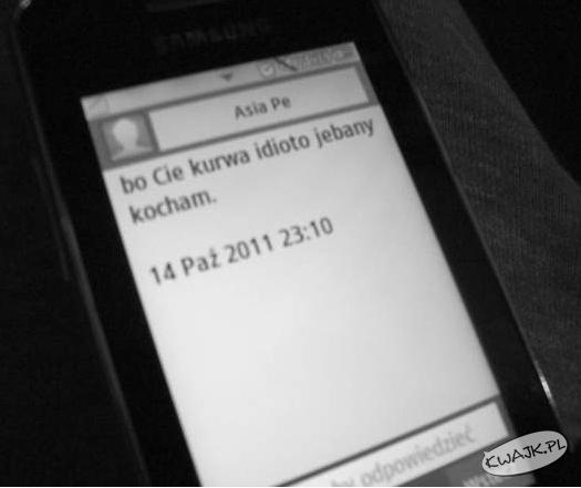 Romantyczny sms