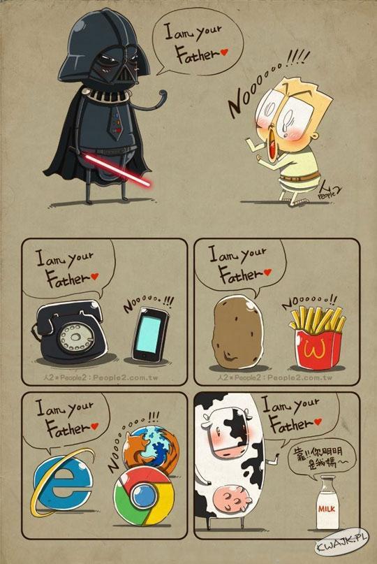Jestem Twoim ojcem