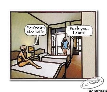 Alkoholicy myślą inaczej