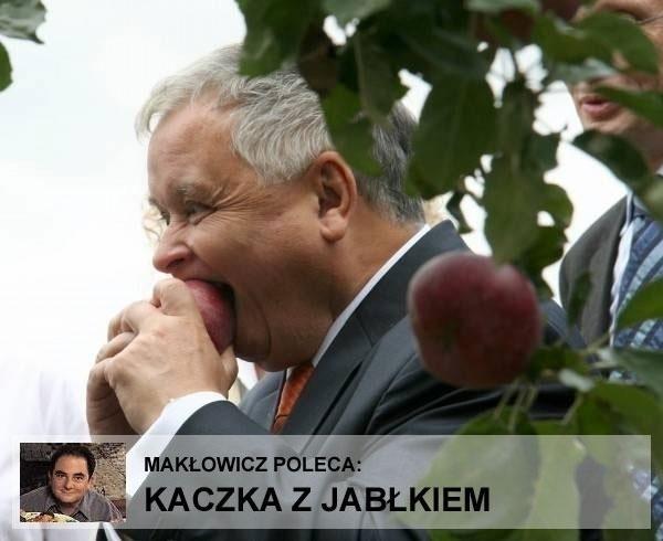 Kaczka z jabłkiem
