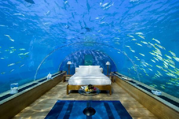 Sypialnia pod wodą