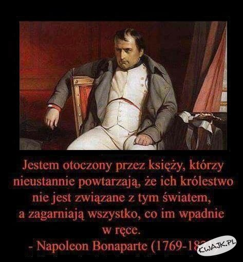 Napoleon Bonaparte o księżach